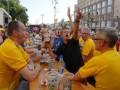 В киевской фан-зоне болельщики выпили полмиллиона литров пива