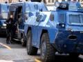 Протесты в Париже: на улицы вывели бронетехнику