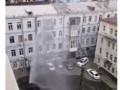 В Киеве из-под земли забил