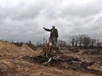 На Оболони в Киеве обнаружили памятник Ленину