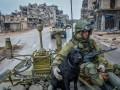 В сирийский Африл зашла российская военная техника