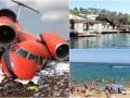 Итоги выходных: крушение украинского самолета и курортный сбор в Крыму