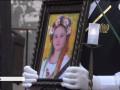 В Одессе попрощались с погибшей в пожаре 7-летней девочкой