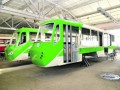 Власти Киева обещают запуск трехсекционного трамвая через месяц