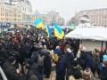 В центре Киева задержали двух вооруженных мужчин