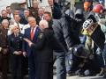 Для рекламы Трампа использовали фото с Майдана