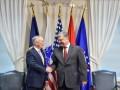 Порошенко провел встречу с главой Пентагона