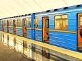 В Киеве стояла красная ветка метро