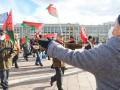 В Минске встретились два противоположных митинга