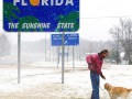 Впервые за почти 30 лет во Флориде выпал снег