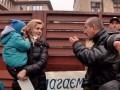 Бойцы АТО пикетировали дом Садового во Львове