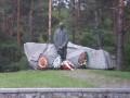 В Киеве горел заповедник
