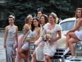 В Ужгороде прошел парад невест