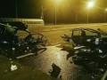На выезде из Киева в ДТП легковушку порвало на части