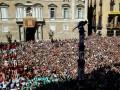Каталонцы вышли на улицы в поддержку референдума