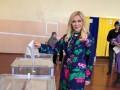 Повалий прилетела из РФ в Киев и проголосовала