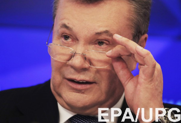 Янукович говорит о клевете