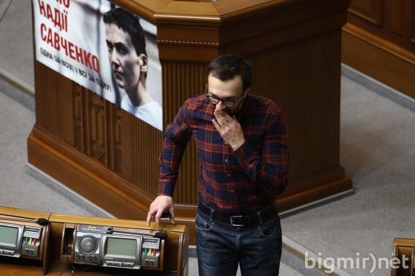Нарофдный фронт хочет лишить Лещенко мандата