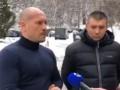 Полицейский объяснил избиение активиста в Киеве