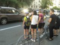 В центре  Киева водитель авто стрелял в велосипедиста