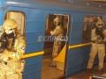 Разбитые окна и кинологи: как полиция училась освобождать людей в метро