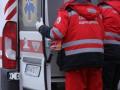 В Киеве на парня обрушилась кирпичная стена