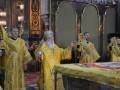 Во Владимирском соборе проходит божественная литургия по случаю 1025-летия Крещения Руси