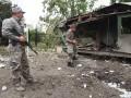 Боевики из крупнокалиберного оружия обстреляли три района Луганщины