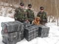 В Черновицкой области пограничники выявили контрабанду сигарет
