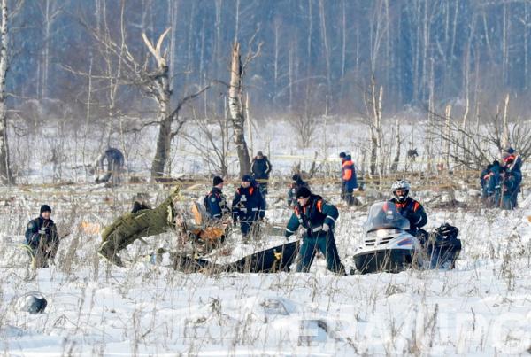 В результате аварии погиб 71 человек, все находившиеся на борту