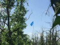 С помощью флагов бойцы ВСУ троллят сепаратистов на Донбассе