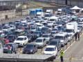 На Керченской переправе в очереди застряли около тысячи машин