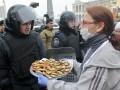 День в фото: Киев в осаде и снегу
