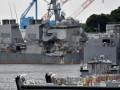 Столкновение эсминца США: найдены тела пропавших моряков