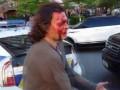 В сети появилось полное видео конфликта полиции и водителя Infiniti в Киеве