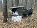 Из РФ через болото проложили мост, чтобы возить товары контрабандой в Украину