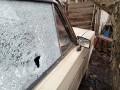 В Майорске боевики обстреляли гражданский автомобиль