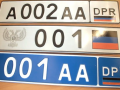 В ОРДЛО начали борьбу с украинскими автомобильными номерами