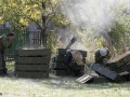 Террористы обстреливают позиции ВСУ из минометов в районе Донецка