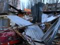 В Одессе экскаватором снесли МАФ: Чуть не погиб охранник