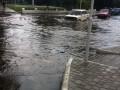 Ураган в Измаиле затопил улицы и повредил деревья