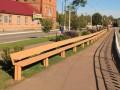 В Хмельницкой области установили самую длинную лавочку в Украине
