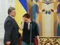 Порошенко о встрече Савченко с боевиками: Такие шаги не несут пользы