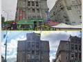 С крыш исторических домов Майдана Независимости убрали рекламу