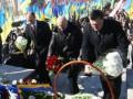 Лидеры оппозиции почтили память Шевченко в центре Киева