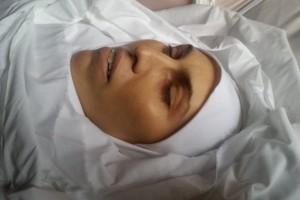 Опубликовано первое фото убитой Окуевой