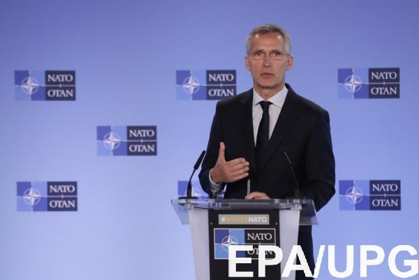 Столтенберг назвал сроки вступления Украины в НАТО
