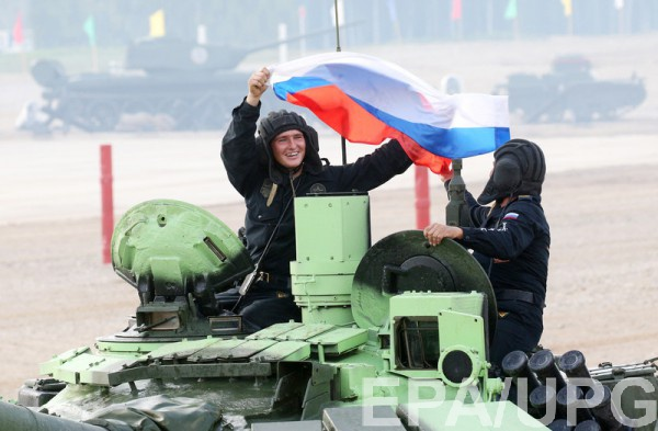 Награнице с Украинским государством стоят 55 тыс. русских военных