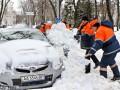 В Киеве утром из-за непогоды произошло более 80 ДТП