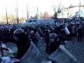 Обнародованы кадры, снятые бойцом ВВ во время Евромайдана